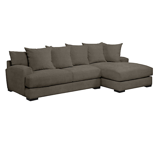 sc 1 st  Z Gallerie : sectional with 2 chaises - Sectionals, Sofas & Couches