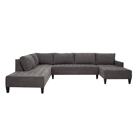 3 Piece Sectional Sofa & Chaise