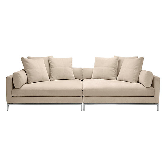 Ventura Extra Deep Sofa 2 Piece Couch Z Gallerie