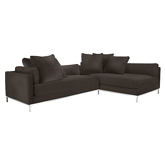 Ventura Sectional 2 Pc Shire Clifton Living Room Inspiration Z Gallerie