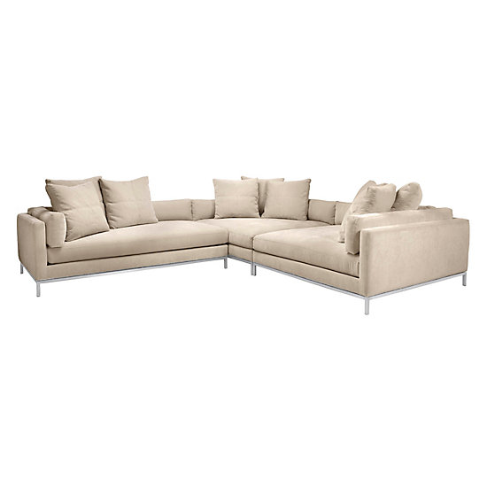 Ventura Sectional Ventura Gallery Wall Living Room