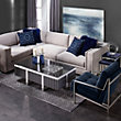 Luka Sectional 3 Pc Luka Sectional Chenille Living