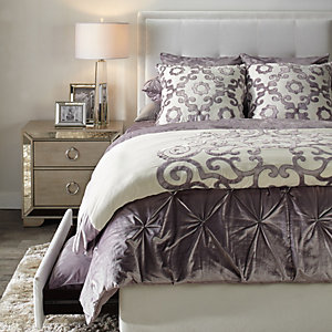 Riley Amora Amethyst Bedroom Inspiration