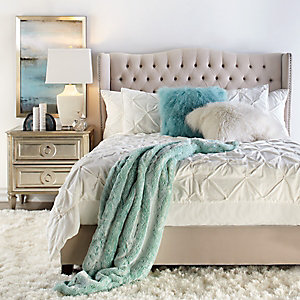 Aqua Jameson Bedroom Inspiration