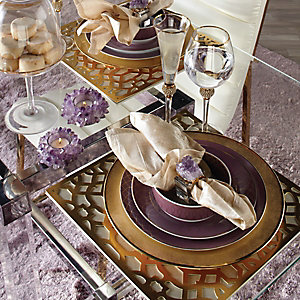 Glamorous Amethyst Entertaining