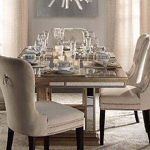 Beau Ava Brushstroke Dining Room Inspiration