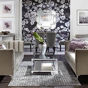 Crestmont Savoy Modern Glam Living Room Inspiration