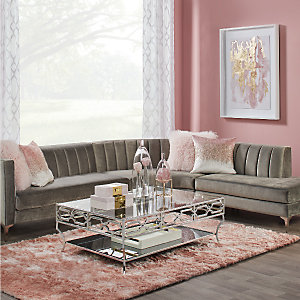 Blush Crestmont Living Room Inspiration