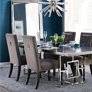 Cerulean Rylan Dining Room Inspiration