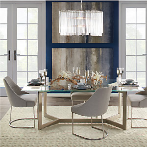 Sapphire Brooklyn Rowan Dining Room Inspiration