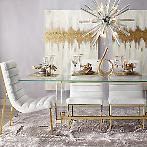 Gold Savoy Dining Room Inspiration