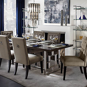 Awesome Rylan Sapphire Dining Room Inspiration