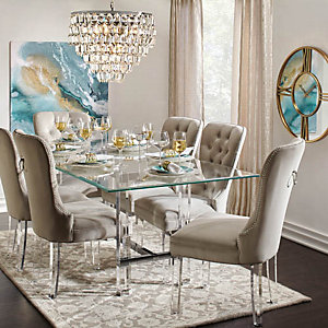 Superb Savoy Aqua Glam Dining Room Inspiration Nice Ideas