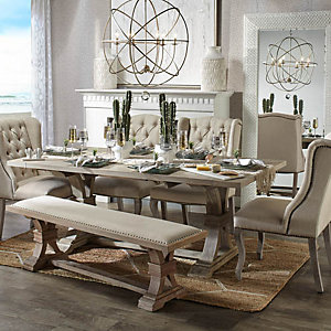 Archer Wash Oak Dining Room Inspiration