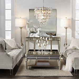 Amazing Simone Glamorous Living Room Inspiration