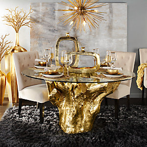 Gold Sequoia Dining Room