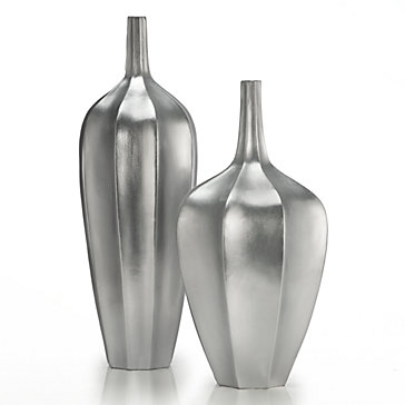 Accolade Vase Silver Color Guide Trends Z Gallerie