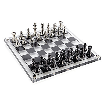 Acrylic Chess Set Host Amp Hostess Gifts Gifts Z Gallerie