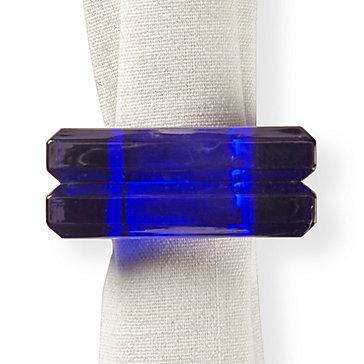 Acrylic Napkin Ring - Set of 4
