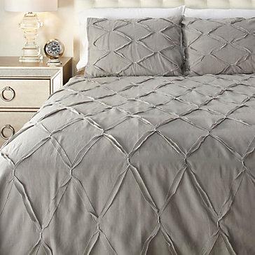 Adella Bedding Set - Grey