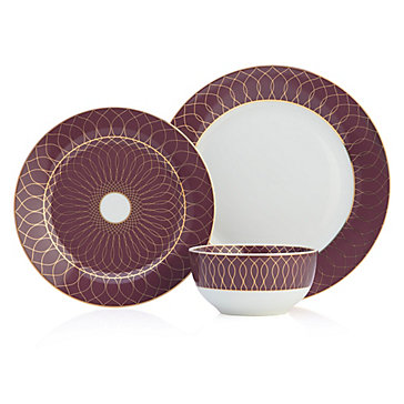 Amelie Dinnerware - Sets of 4  sc 1 st  Z Gallerie & Amelie Dinnerware - Sets of 4 | Amethyst | Color Guide | Trends | Z ...