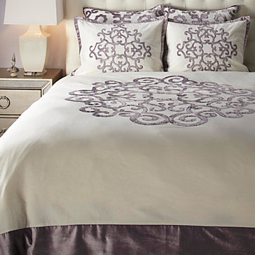 Amora Bedding   Amethyst by Z Gallerie