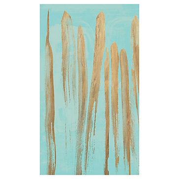 Aqua Drip - Canvas