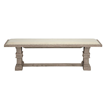 Archer Natural Grey Wood Bench All About Archer Dining