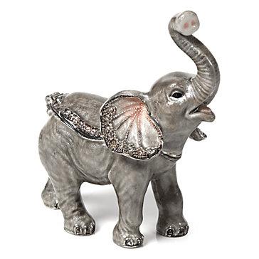 baby elephant trinket box