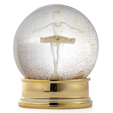 Ballerina Snow Globe Gifts For Her Holiday Decor Z