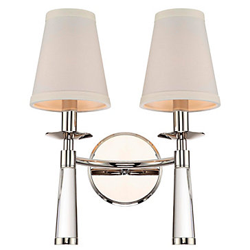 Barron Wall Sconce - Polished Nickel