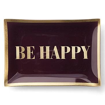 Be Happy Trinket Tray