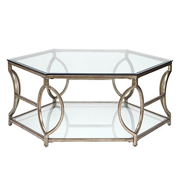 Brooke Hexagonal Coffee Table
