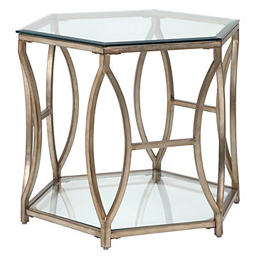 Brooke Hexagonal End Table Stools Amp Accent Tables
