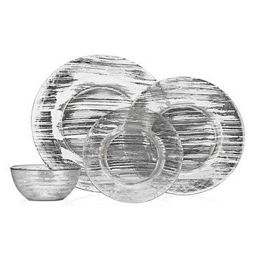 Brushstroke Dinnerware - Sets of 4