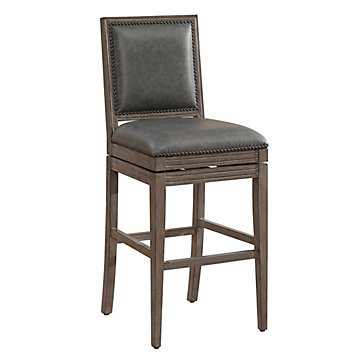 Bryan Stool Leather Furniture Furniture Z Gallerie