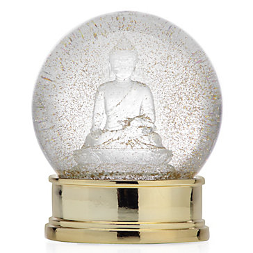 Buddha Snow Globe