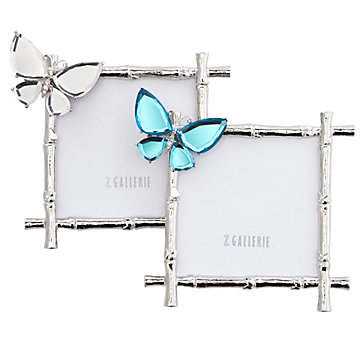 Butterfly Jeweled Frame | Photo Frames | Decor | Z Gallerie