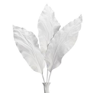 Canna Leaf Branch - Set of 3