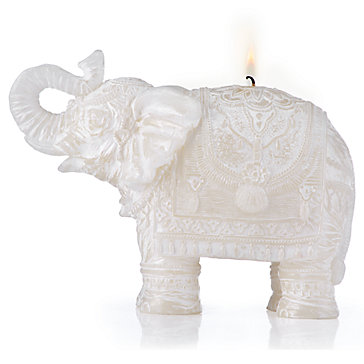 Carved Elephant Candle Party Host Gifts Gifts