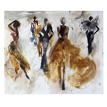 catwalk figurative nudes art themes art z gallerie