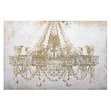 Chandelier Diamond Dust Fashion Forward Art Themes