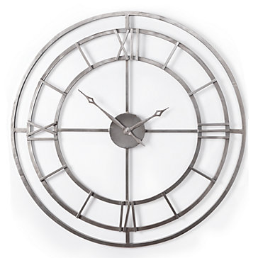 Cicero Wall Clock by Z Gallerie