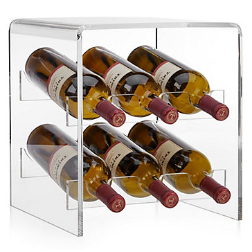 Claro Acrylic Counter Wine Rack