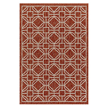 Clemente Indoor/Outdoor Rug - Mandarin