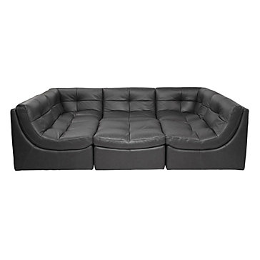 Cloud Modular Sectional   Grey
