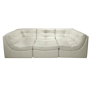 Cloud Modular Sectional   Taupe