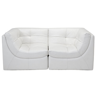 Cloud Modular Sectional White