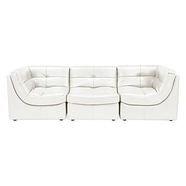 Convo Sofa 3PC - White