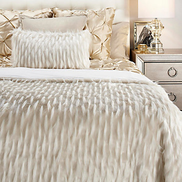 Corseca Blanket Collection   Ivory by Z Gallerie
